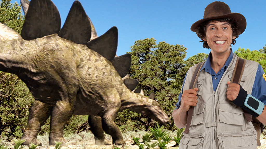 Andy's Dinosaur Adventures - Stegosaurus Facts