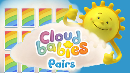 Play the Cloudbabies Pairs Game