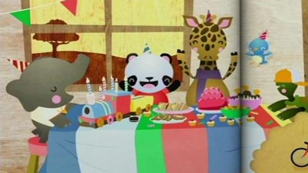 Animals having a party