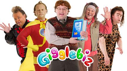 Gigglebiz characters