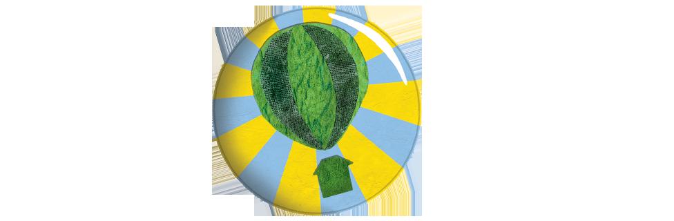 Green Balloon Club badge