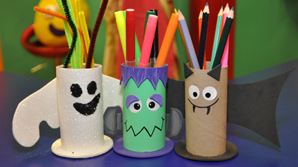 Mister Maker - Spooky Pencil Holder
