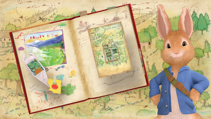 Peter Rabbit and his journal