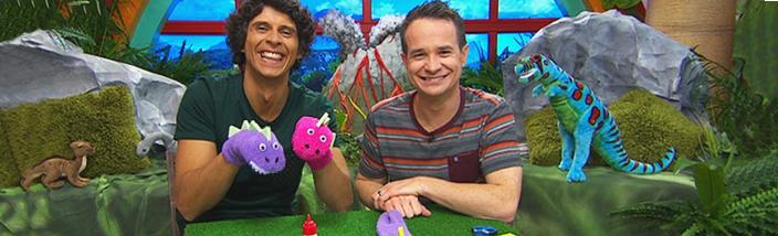 Presenters - Dinosaur Sock Puppet