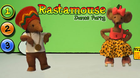 Mixy and Rastamouse