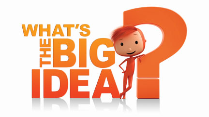 What's The Big Idea logo with Hugo