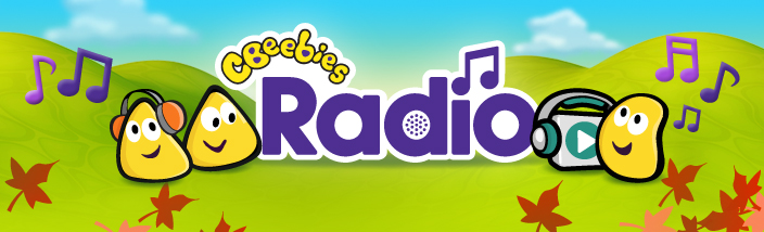 The CBeebies Bugs listening to CBeebies Radio.