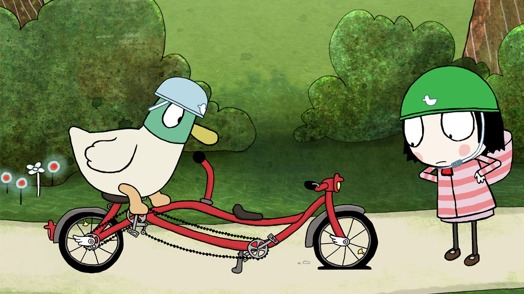 Sarah and Duck - Puncture Pump