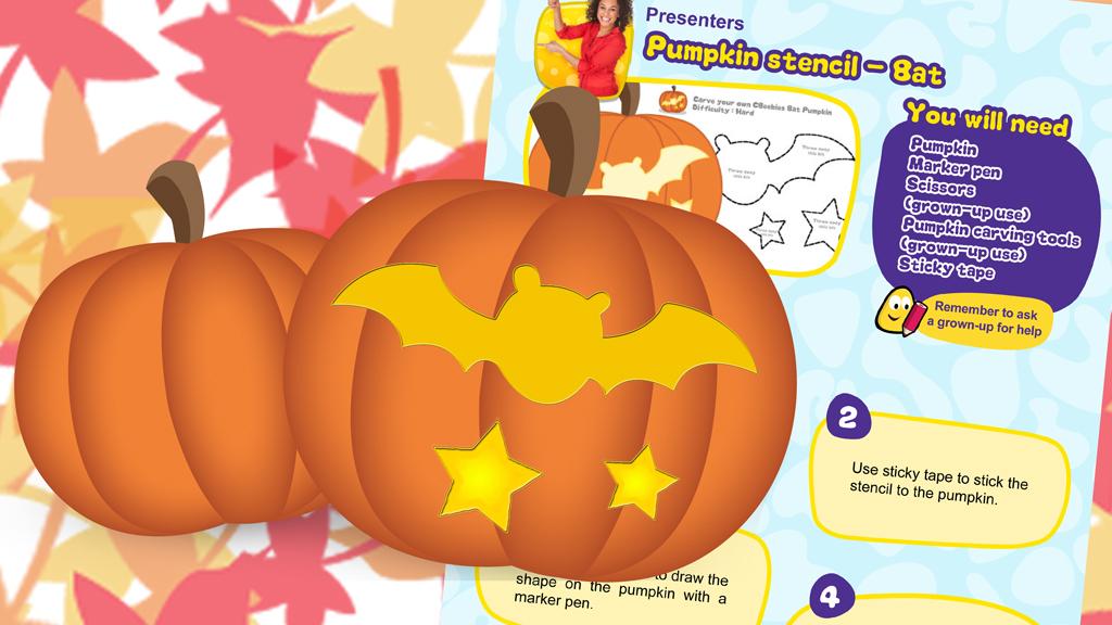 Presenters - Bat Pumpkin