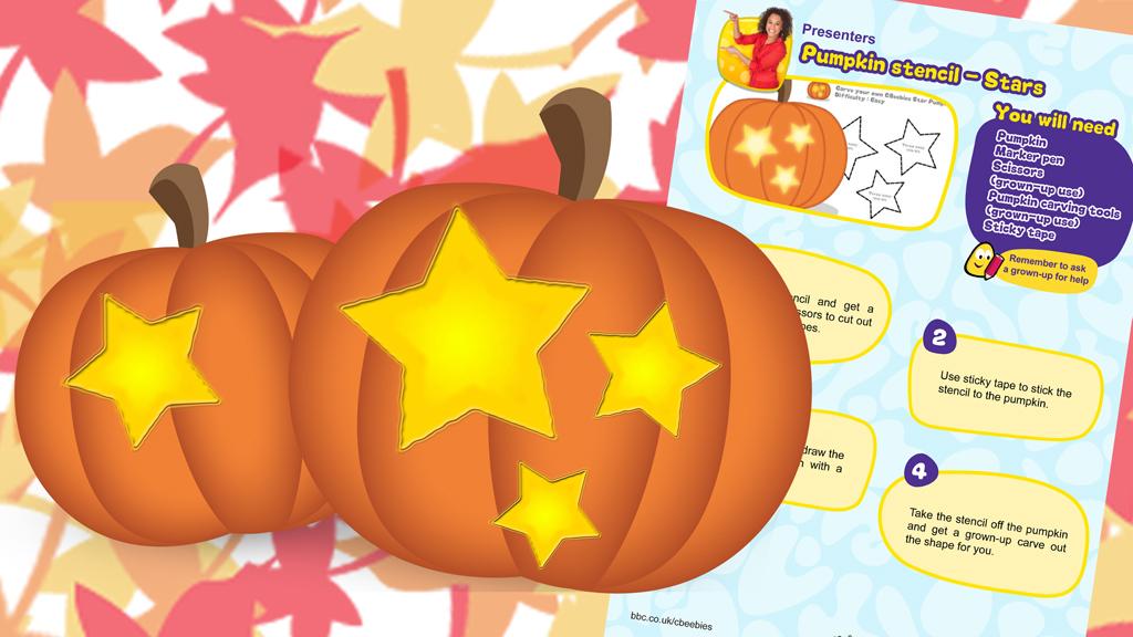 Presenters - Stars Pumpkin