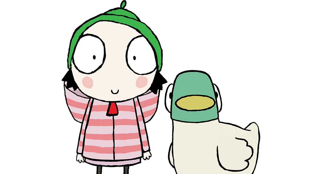 sarah and duck coloring pages - photo#33