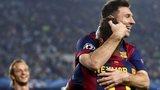 Messi celebrates