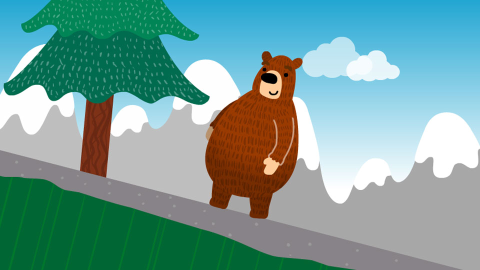 BBC School Radio: Nursery songs - The bear went over the mountain