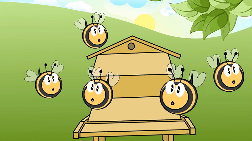 BBC School Radio: Nursery songs - Here is the beehive
