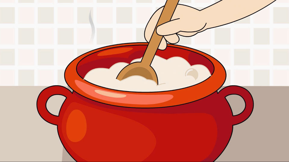 BBC School Radio: Nursery songs - The magic porridge pot