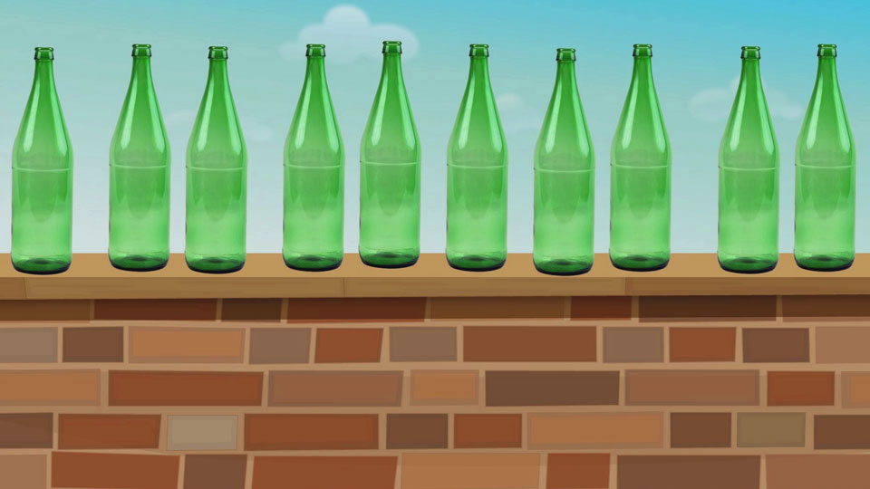 BBC School Radio: Counting songs - Ten green bottles