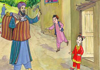of afghan folk tale