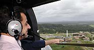Nikolas Sarkozy flies into French Guiana