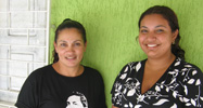 Elenire Mendes (Daughter - Right) and Ilzamar Mendes (Widow - Left)