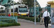 Public transport system in Dallas
