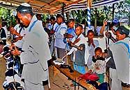 Falash Mura prayer meeting in Ethiopia