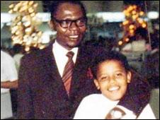 پدر باراک اوباما