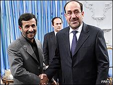 نوری مالکی، نخست وزیر عراق وارد تهران شد