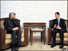 مذاکرات ایران و سوریه در باره بحران غزه