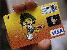 Cartão de crédito da Copa