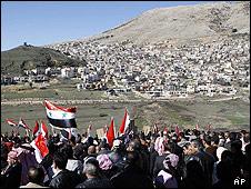 دمشق تفتح بوابات الحدود مع الجولان