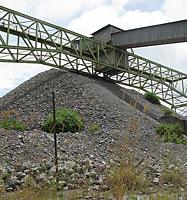 A disused copper mine in Luynansha, Zambia