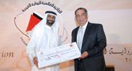 Youssef Ziedan with Mohammed Ahmed Al Bowardi