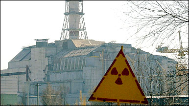 Sinal indica radioatividade em volta do antigo reator de Chernobyl