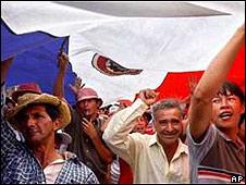 Imagen de archivo de campesinos paraguayos.