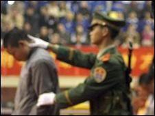 中国执行死刑