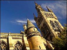 Edificio de la Universidad de Glasgow (Foto: sitio universidad)
