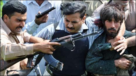 لاہور حملہ آور گرفتار