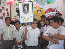 Campaña nacional para exigir el esclarecimiento del crimen de Katya