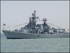 Khu trục hạm INS Mumbai