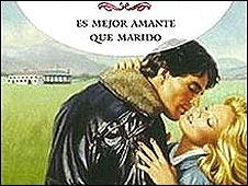 Tapa de una novela de Corín Tellado (Foto: gentileza corintellado.com).