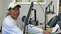 Harlan McKosato is the host of 'Native America Calling'