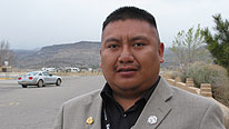 Steven Concho, Tourism Manager at the Reservation of Acoma