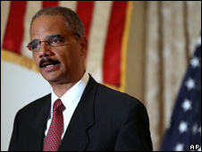 Eric Holder, fiscal general estadounidense