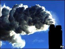 Emissões de gases estufa (arquivo)
