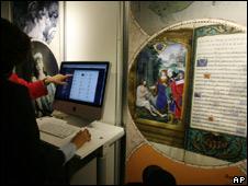 Inauguración de la biblioteca en París