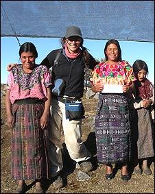 Fernanda Rojas en la aldea Tojquia, Huehuetenango, Guatemala (Foto: Fernanda Rojas)
