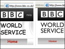 The BBC web site as it might look with Comic Sans