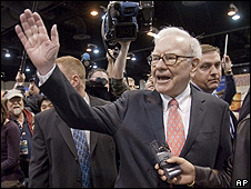 Warren Buffett, presidente de Berkshire Hathaway AGM