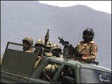 سربازان پاکستانی در سوات