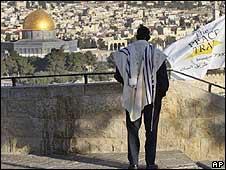 Panorámica de Jerusalén con el Cúpula de la Roca